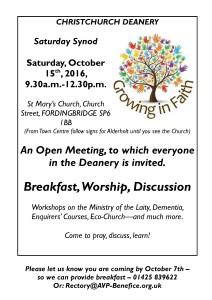 Saturday Synod Poster-Oc16